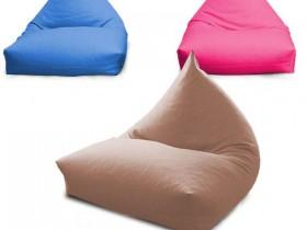 ghế lười hạt xốp hình tam giác s