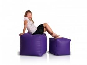 ghế lười hạt xốp hình vuông