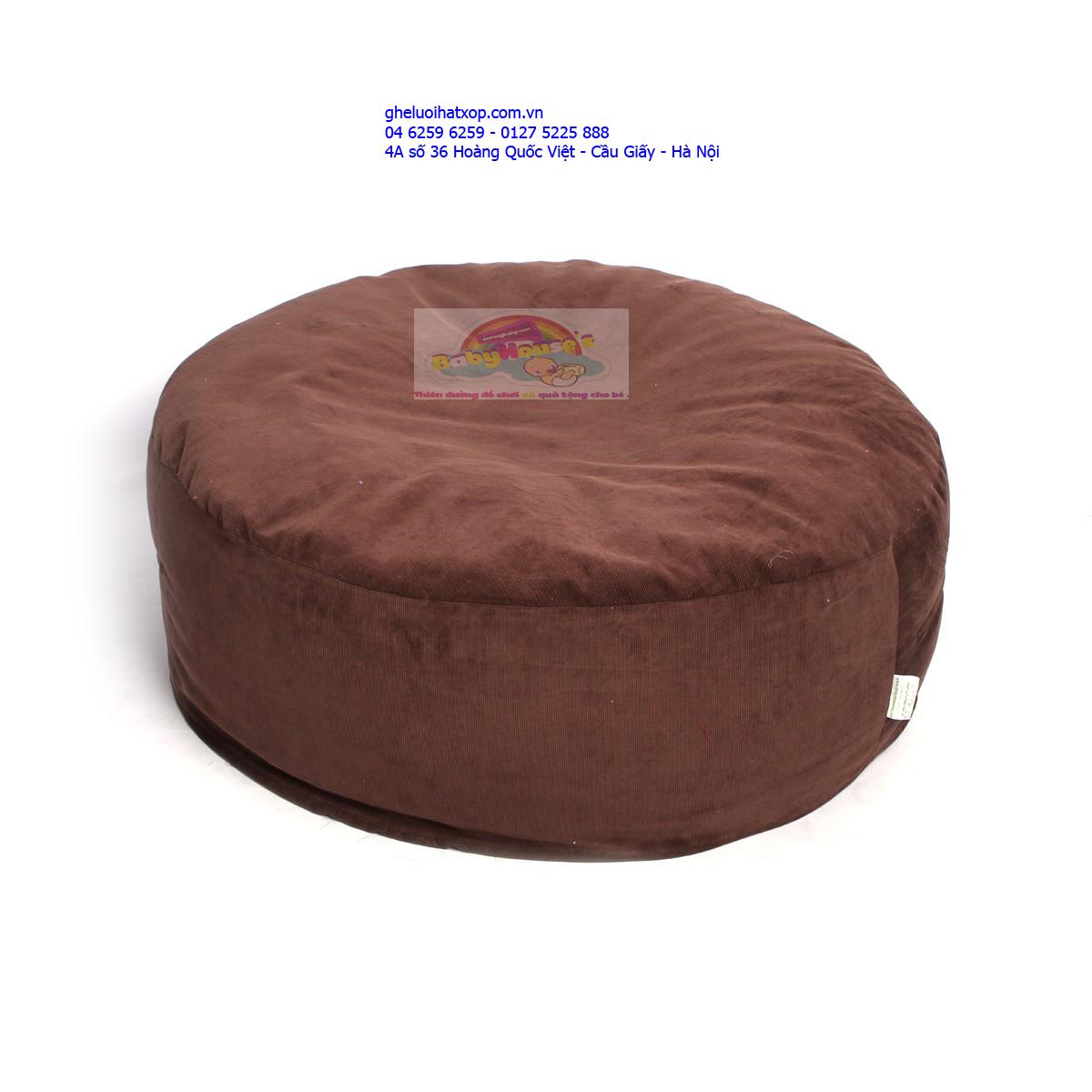 Ghế lười| ghế lười hạt xốp giá rẻ Hà Nội