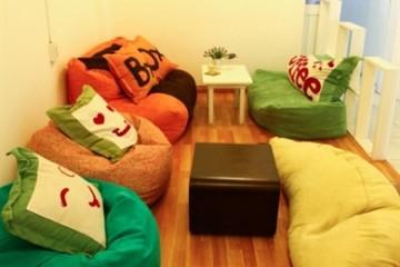 Xu hướng sử dụng ghế lười hạt xốp làm nội thất
