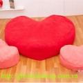 Ghế lười hạt xốp| ghế lười hạt xốp hình trái tim hà nội