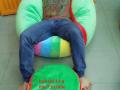 ghế lười hạt xốp hình tròn - 4