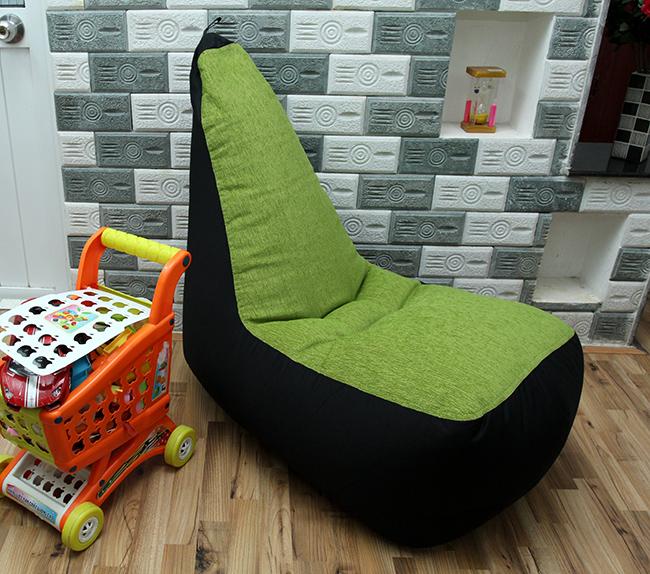 Ghế lười hạt xốp hình sofa - 3