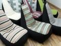 Ghế lười hạt xốp hình sofa - 5