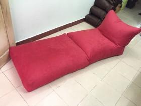 ghế lười hạt xốp hình sofa ghép
