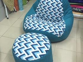 ghế lười hạt xốp hình quả lê L05