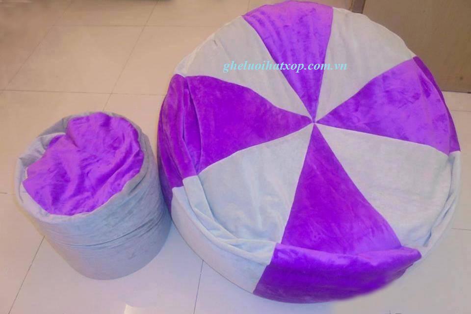 Ghế lười hạt xốp hình tròn T9
