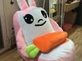 Ghế lười hạt xốp dáng sofa con thỏ