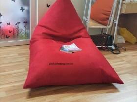 Ghế hạt xốp dáng thuyền đỏ GL T001 (L) (8)