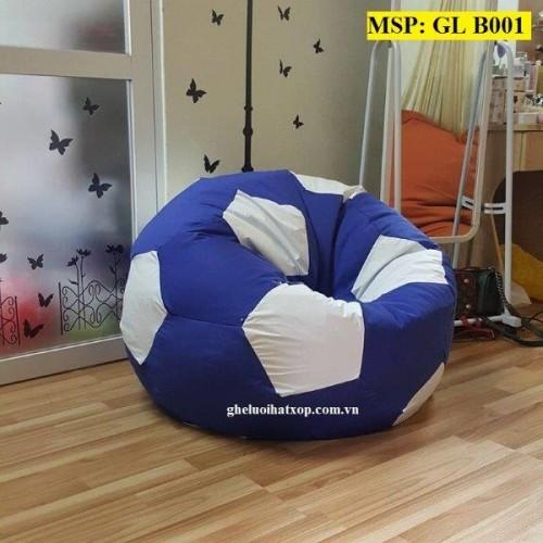 Ghế lười hạt xốp quả bóng xanh GL B001 (L) (6)