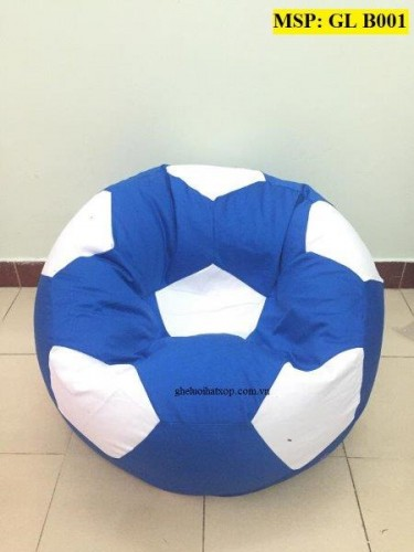 Ghế lười hạt xốp quả bóng xanh GL B001 (L) (8)