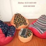 ghế lười hạt xốp