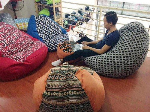 ghế lười hạt xốp (2)