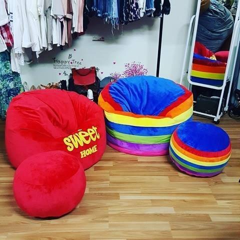 ghế lười hạt xốp dáng sofa (2)