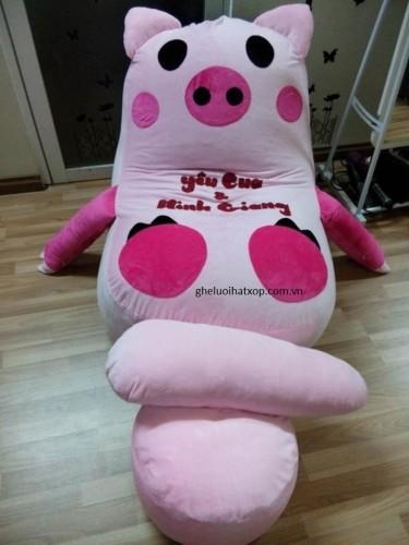 ghế xốp hình lợn-1