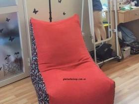 Ghế hạt xốp dáng sofa họa tiết GL SF001 (1)