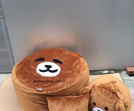 ghế tròn hình gấu-1