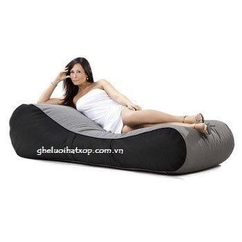 Ghế lười hạt xốp dáng sofa kiểu giường nằm SF008 (4)