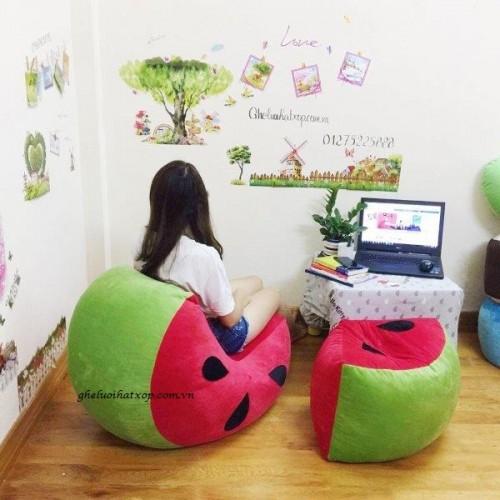 ghế xốp hình quả dưa hấu (1) - Copy