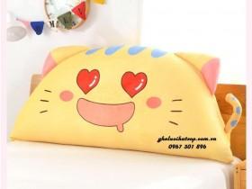 Gối tựa đầu giường Cat Love GĐ01 (3)