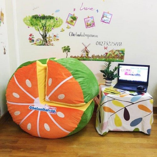 Ghế lười hình quả cam (1)