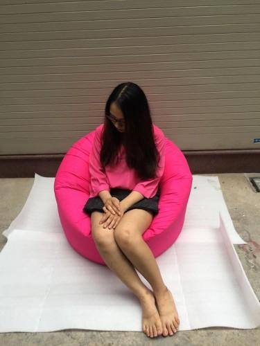 ghế lười hình tròn
