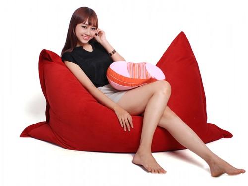 ghế lười hạt xốp hình túi Size S-1