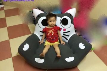 Ghế lười hạt xốp hình hoạt hình – món quà độc đáo cho trẻ nhỏ