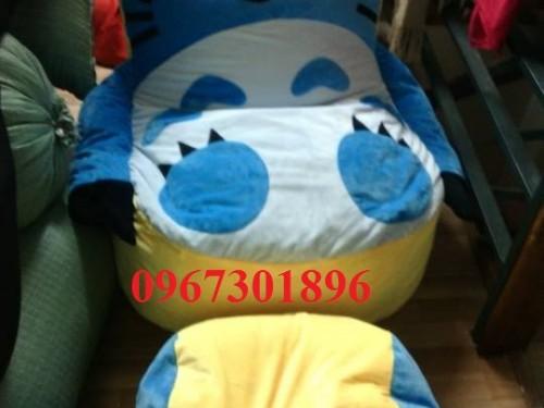 Ghế lười thú bông hình Totoro-1