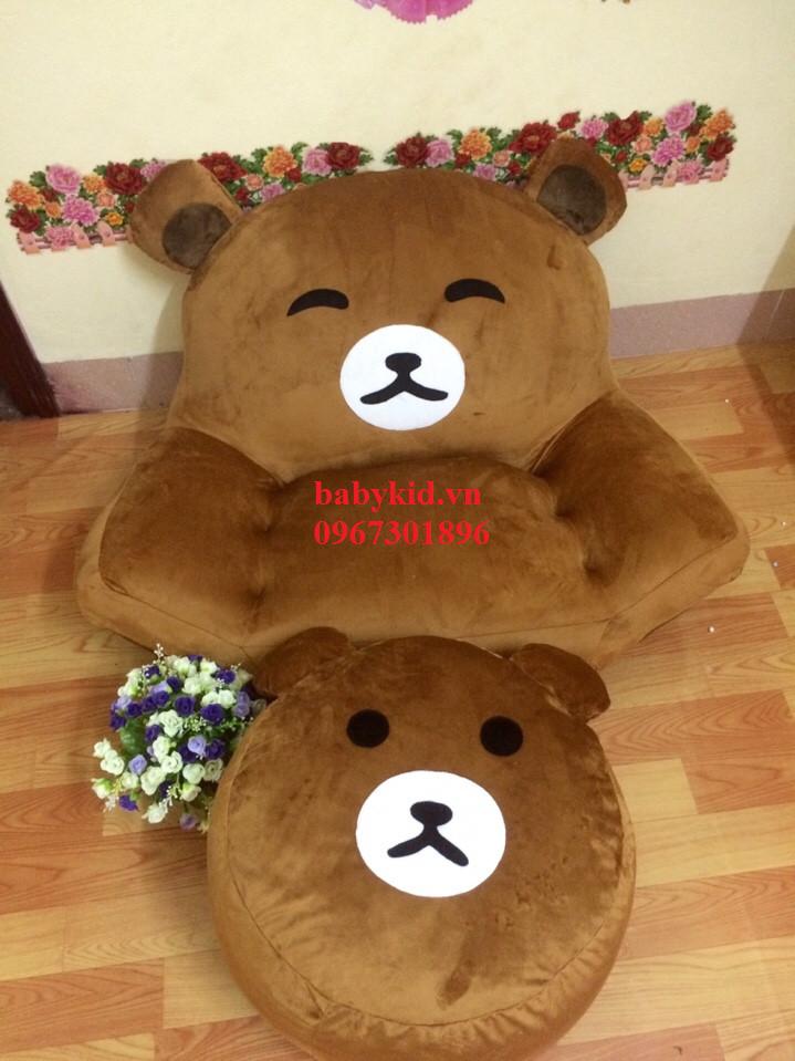 ghe lươi hạt xốp hình gấu Bear-3