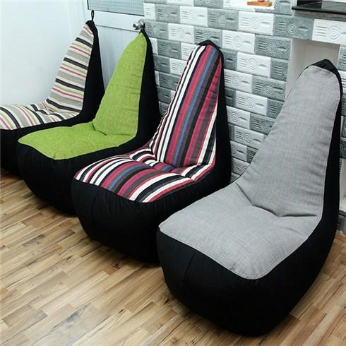 Ghế lười hạt xốp hình sofa - 1