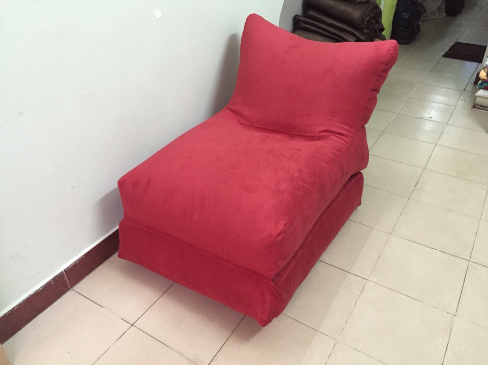 ghế lười hạt xốp hình sofa 2