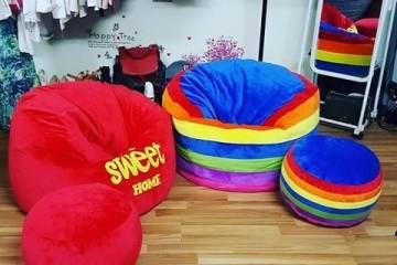 Ghế lười hạt xốp tại Babykid.vn – niềm vui nhân đôi của trẻ trong dịp hè này.