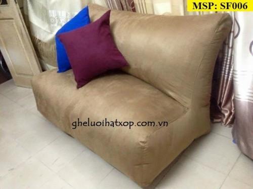 Ghế lười hạt xốp dáng sofa đôi (5)