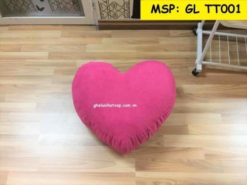 Ghế lười hạt xốp hình trái tim GL T001 (3)