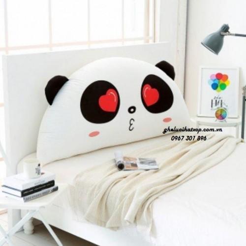 Gối tựa đầu giường Panda Love dễ thương GĐ011 (3)