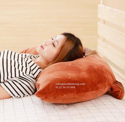 gối đầu giường BBK gấu Brown (5)