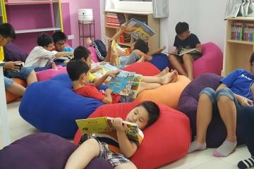 Ghế lười BBK – nội thất sang chảnh đồng hành cùng bé qua những trang sách.