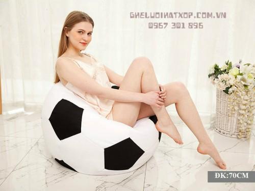 Ghế lười xốp kiểu dáng quả bóng B002 (2)
