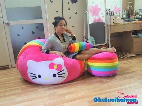 Ghế lười hình tròn phối 7 màu - Kitty GL T093 (10)