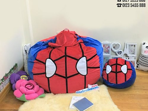 ghe hat xop chat nhung hinh spiderman 2