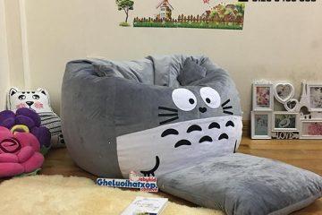 Ghế lười dáng lê Totoro phối màu bắt mắt và đáng yêu tại Babykid.vn
