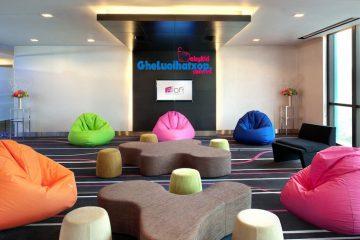 7 cách có thể sử dụng ghế lười xốp tại văn phòng làm việc