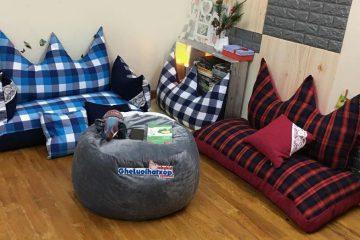 Ghế lười hạt xốp – Nội thất thông minh cho nhà ở