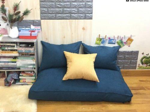 Set ghế lười sofa chữ nhật xám 120cm SF013 (2)