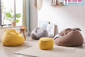 2 LƯU Ý trong lựa chọn nội thất cho chung cư mini, căn hộ nhỏ và vừa vẫn đảm bảo sự thoải mái, tiện nghi – ghế lười hạt xốp đều ĐẠT CHUẨN!