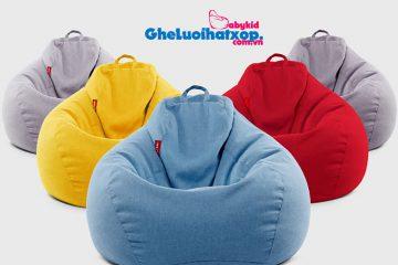 Những mẫu ghế lười hạt xốp – bean bag chair được ưa chuộng nhất thế giới