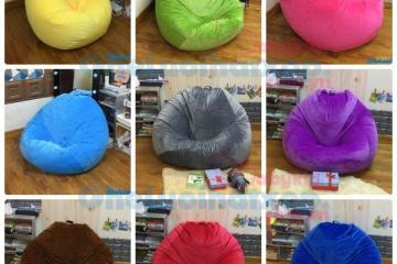 Ghế lười trơn màu cho nội thất – nhàm chán hay thực sự tinh tế?