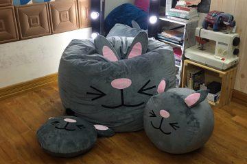 Ghế lười hạt xốp hình thỏ – hình mẫu chú thỏ có ý nghĩa gì đặc biệt?