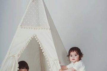 Cách làm lều vải handmade – Babykid thiết kế lều vải